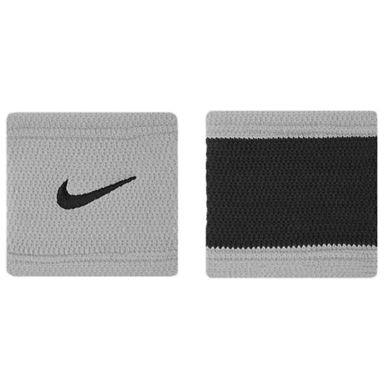 Muñequera de Hombre Nike Gris nike df stealth wristbands