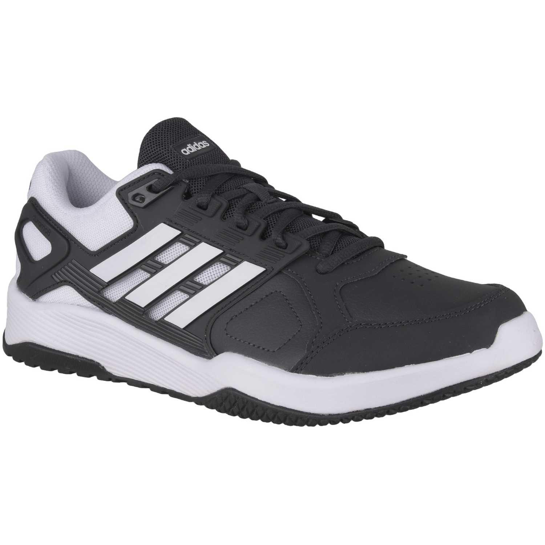 Zapatilla de Hombre adidas NEO Blanco / negro duramo 8 trainer m
