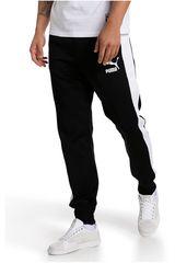Pantalón de Hombre PUMA Negro / Blanco Archive T7 Track Pants