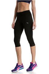 Puma Negro de Mujer modelo Core-Run 3/4 Tight W Pantalones Deportivo