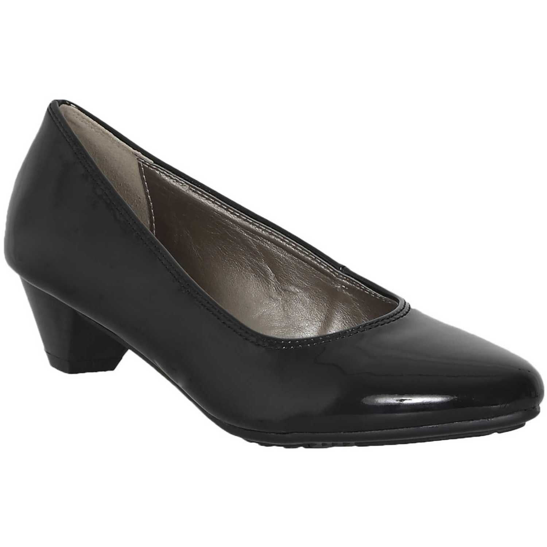 Calzado de Mujer Platanitos Negro siki-c 91