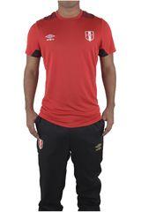 Camiseta de Hombre Umbro Rojo PERU PRO TRAINING S/S JERSEY