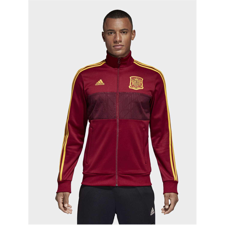 top 3s Rojo fef Hombre de amarillo Adidas Casaca trk wz8BHn