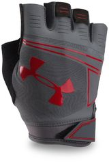 Guantes de Hombre Under Armour Gris / rojo ua coolswitch flux