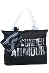 Bolso de Mujer Under Armour ua big wordmark tote 2.0 Negro / blanco