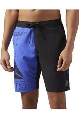 Reebok Negro / Azulino de Hombre modelo EPIC LIGHTWEIGHT SHORT Shorts Deportivo