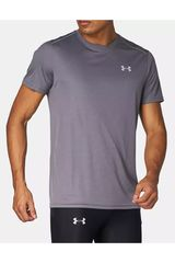 Under Armour Gris / plomo de Hombre modelo UA COOLSWITCH RUN S/S v2 Deportivo Polos
