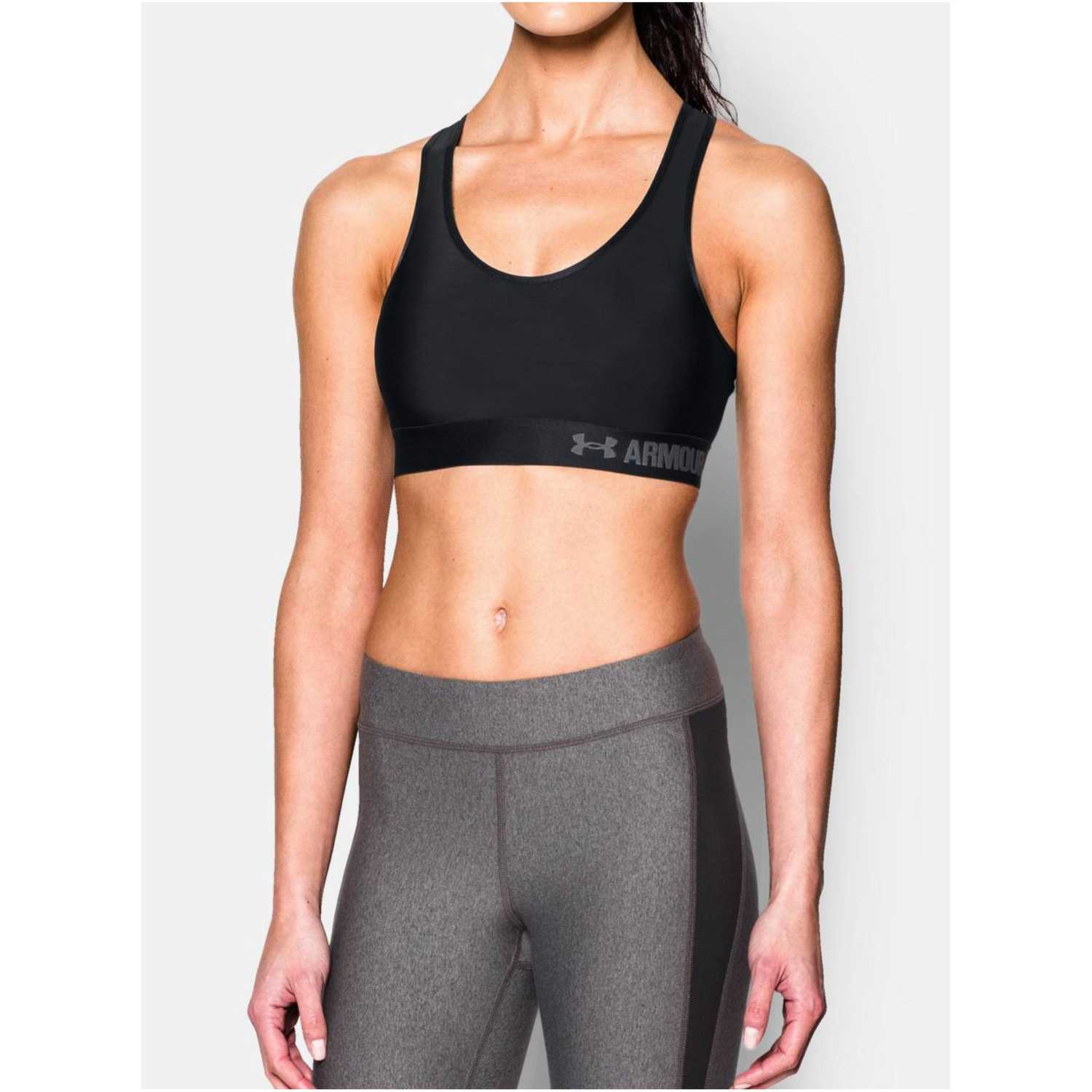 Top de Mujer Under Armour Negro armour mid bra