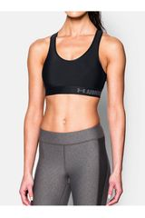Top de Mujer Under Armour armour mid bra Negro