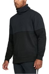 Under Armour Negro de Hombre modelo Channel Quilted 1/2 Zip Mock Poleras Deportivo