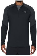 Under Armour NG/GR de Hombre modelo THREADBORNE RUN 1/4 ZIP Deportivo Poleras
