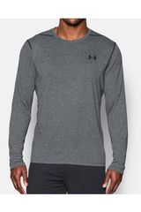 Under Armour Gris de Hombre modelo UA THREADBORNE LS Polos Deportivo