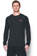 Under Armour GR/NG de Hombre modelo UA THREADBORNE SEAMLESS LS Polos Deportivo