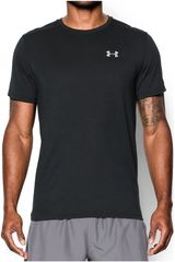 Under Armour Negro / plateado de Hombre modelo UA STREAKER SHORTSLEEVE T Polos Deportivo
