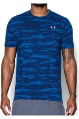 Under Armour AZ/CE de Hombre modelo Threadborne Run Mesh SS Deportivo Polos