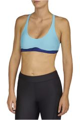 Top de Mujer Under Armour Azulino Armour Low Strappy