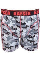 Kayser Gris de Hombre modelo 93.131 Ropa Interior Y Pijamas Lencería Boxers Calzoncillos