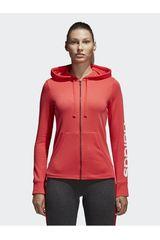Adidas Rosado de Mujer modelo ESS LIN FZ HD Deportivo Casacas