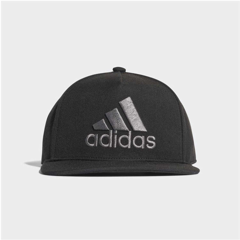 Gorro de Hombre Adidas Negro  gris h90 logo cap  a74ebcbded3