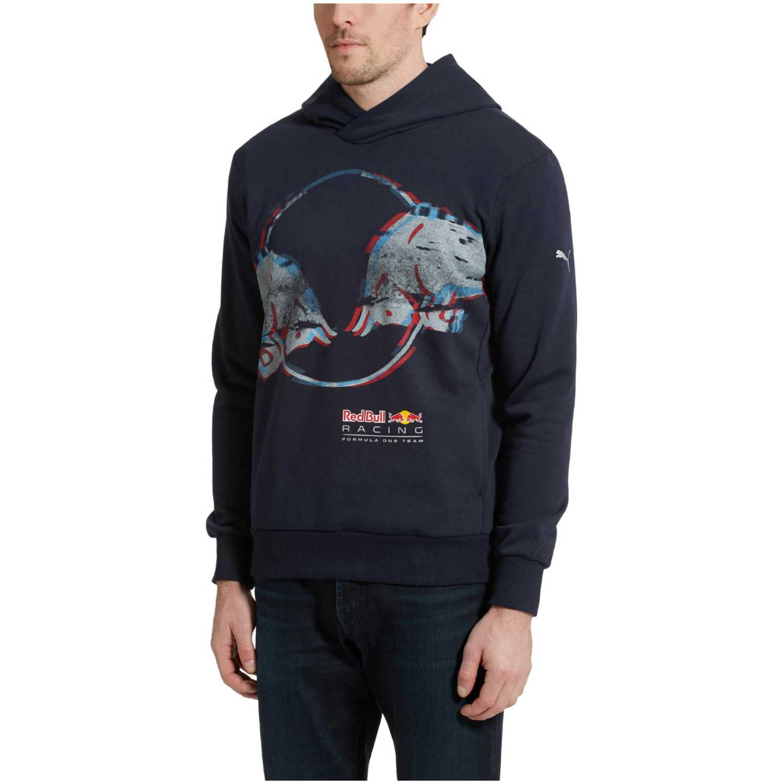 Polera de Hombre Puma Morado rbr double bull hoodie