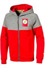 Casaca de Niño Puma Justice League Jacket Rojo / gris