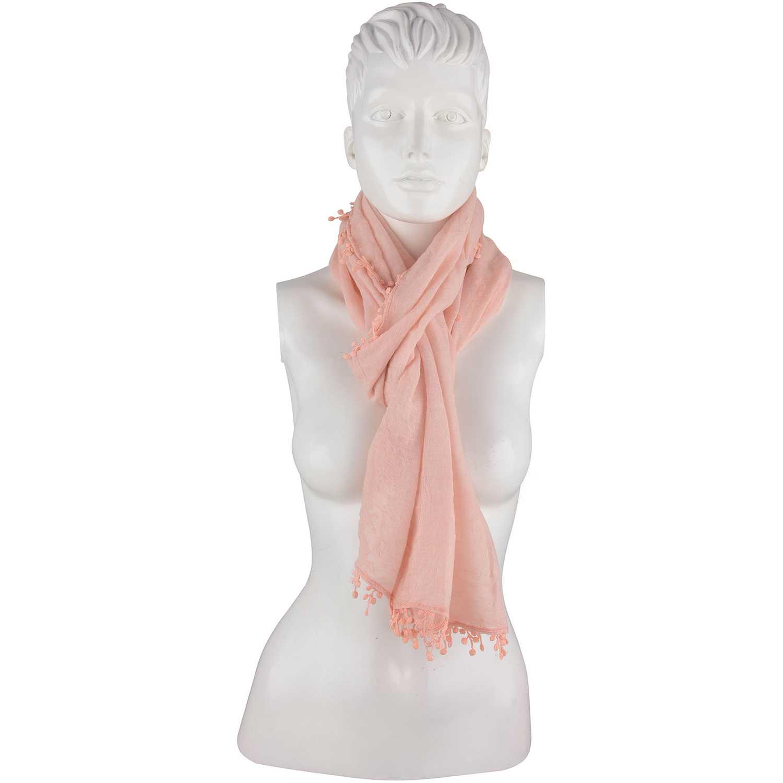Bufanda de Mujer Platanitos Rosado #0494