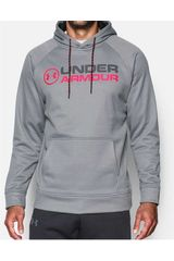 Under Armour GR/CO de Hombre modelo AF Wordmark Hoodie Deportivo Poleras