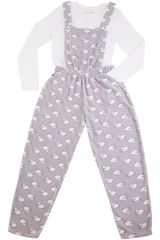 Kayser Gris de Niña modelo 63.1164 Pijamas Ropa Interior Y Pijamas Lencería