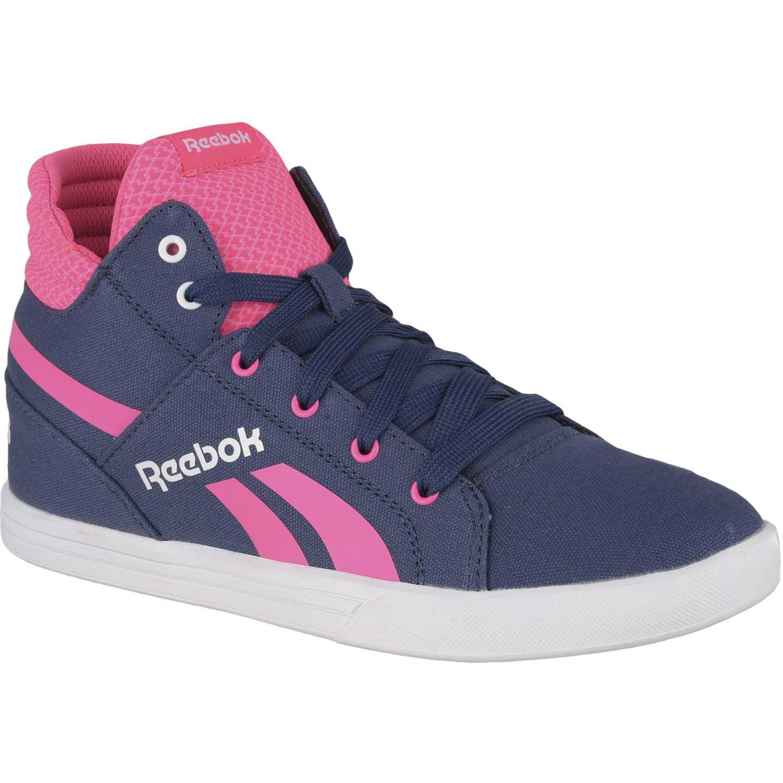 f15d1e57c6e Zapatilla de Niña Reebok Azul   rosado reebok royal unite ...