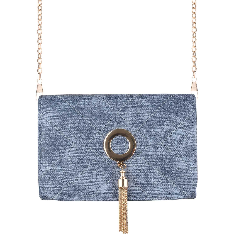 Cartera Casual de Mujer Platanitos Azul a334