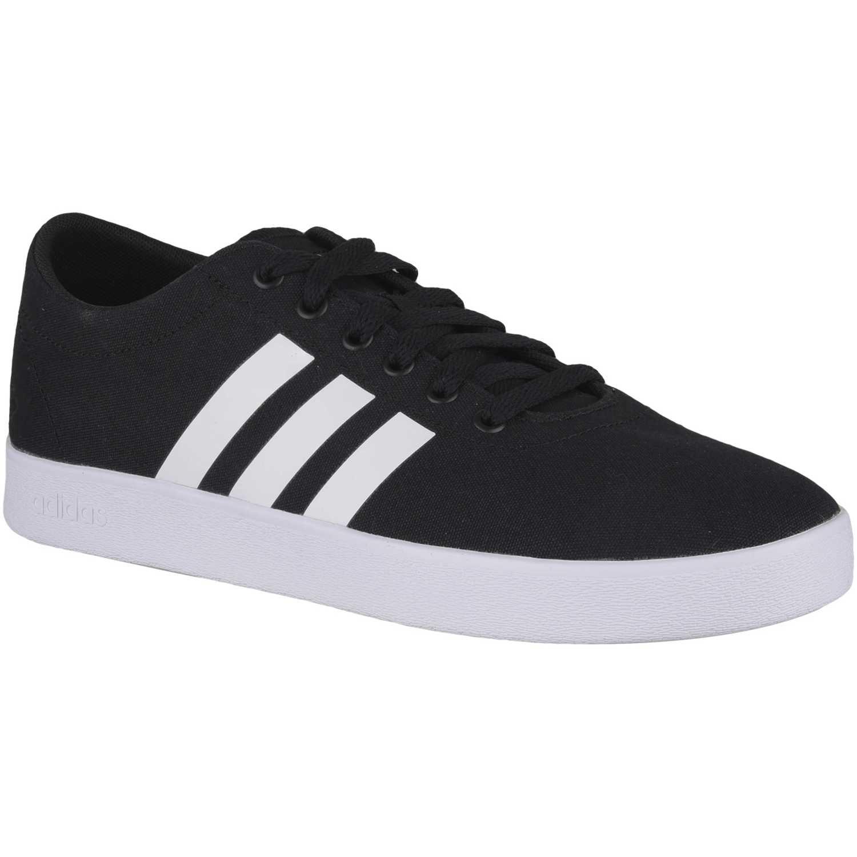 separation shoes 82517 cd31e Zapatilla de Hombre adidas NEO Negro  blanco easy vulc 2.0