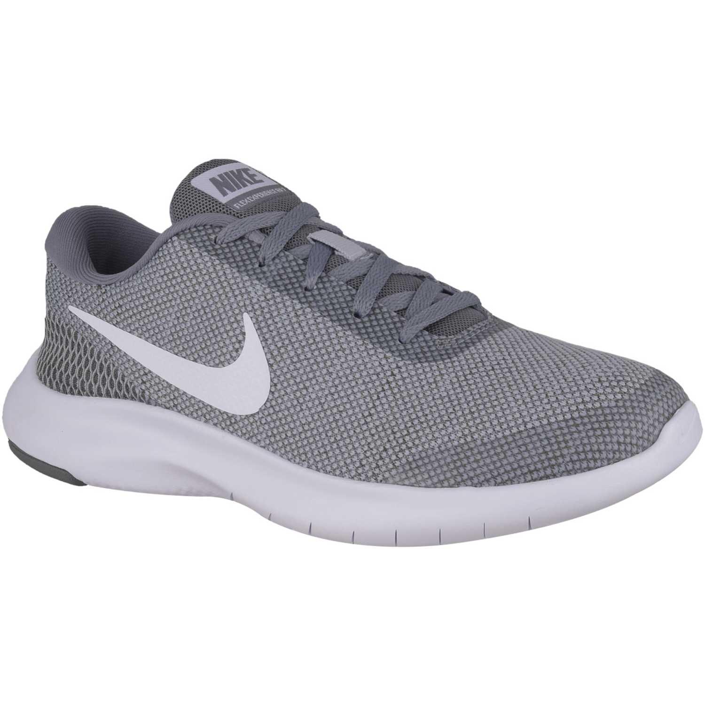 Gris 7 Nike w de blanco rn Zapatilla experience Mujer flex nike nU1xaf