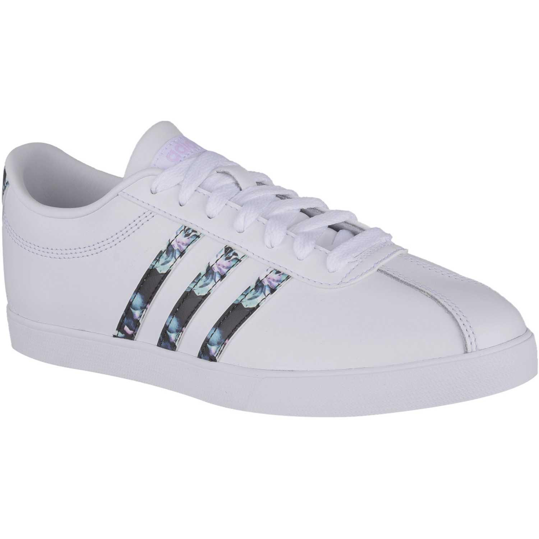 competitive price 49d0e 00aee Zapatilla de Mujer adidas NEO Blanco courtset w