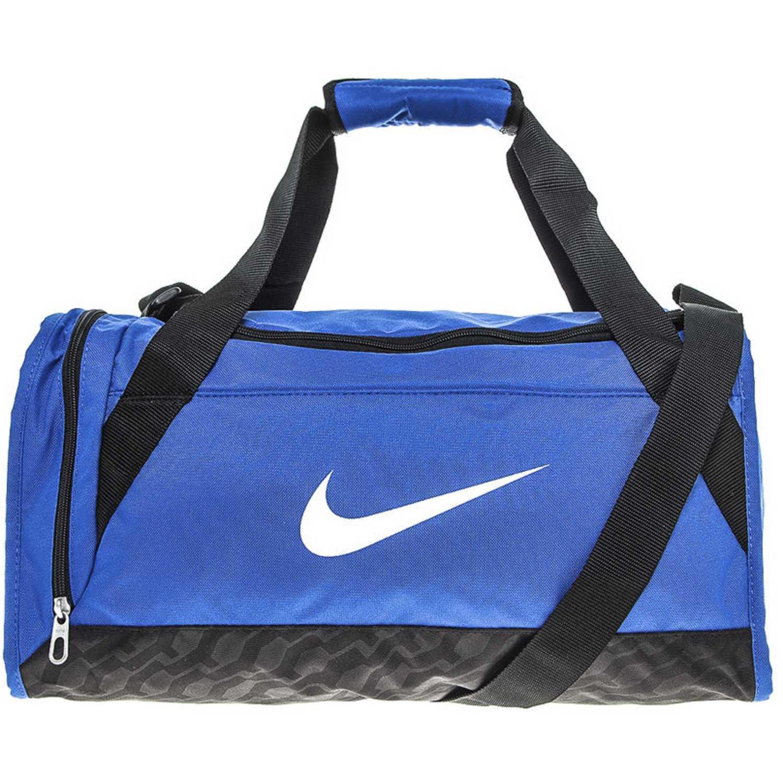 32c9b23f3 Maletin Deportivo de Hombre Nike azul / negro brasilia 6 duffel small