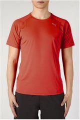 PUMA Rojo de Hombre modelo Core-Run S/S Tee Polos Deportivo
