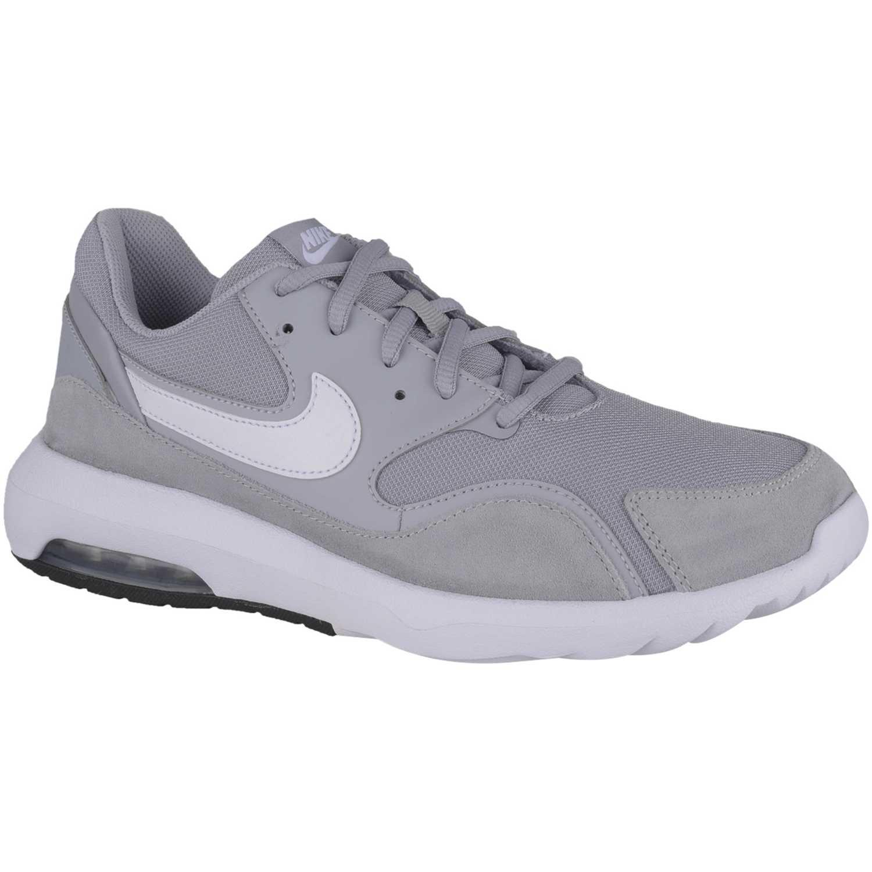 e6dcaaf9056 Zapatilla de Hombre Nike Gris   blanco nike air max nostalgic ...