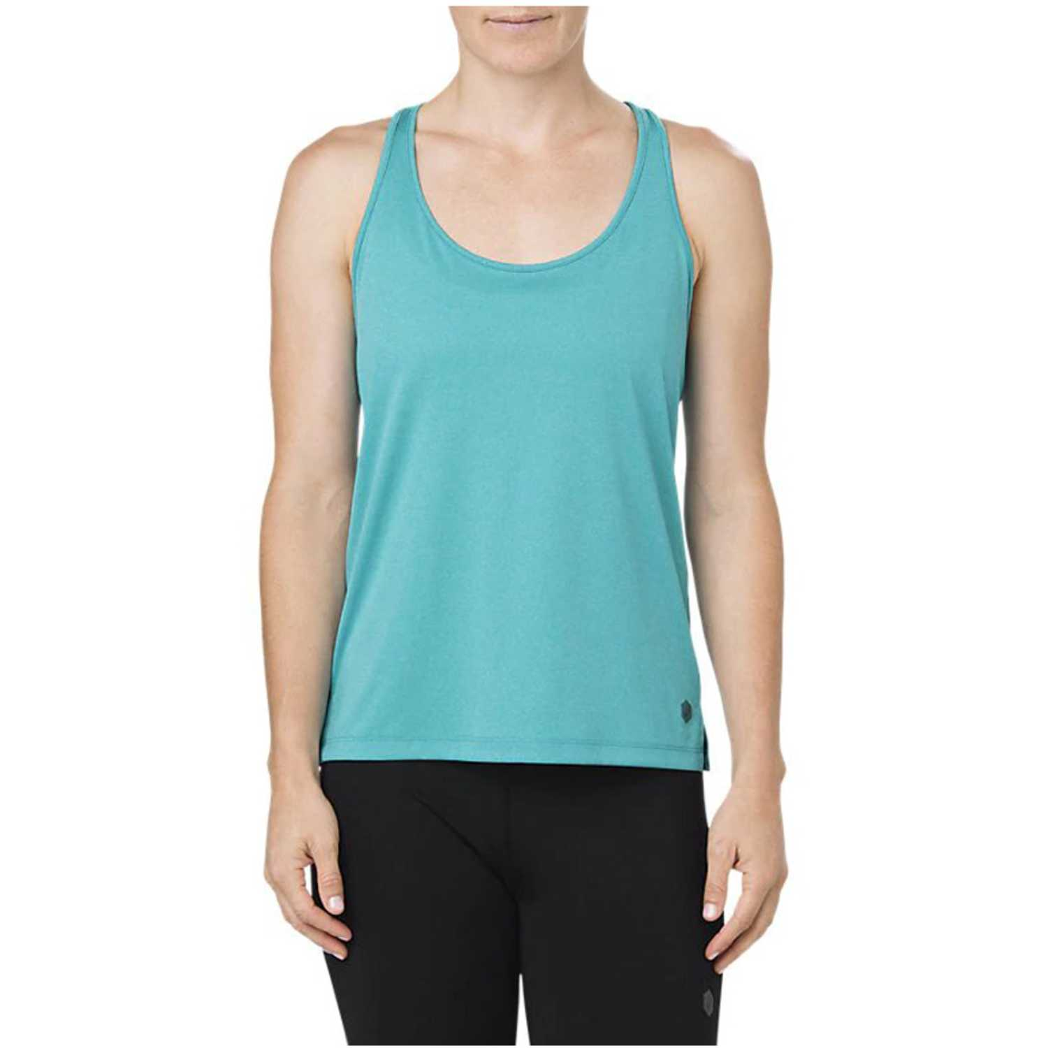Bividi de Mujer Asics Turquesa loose tank  lake blue heather