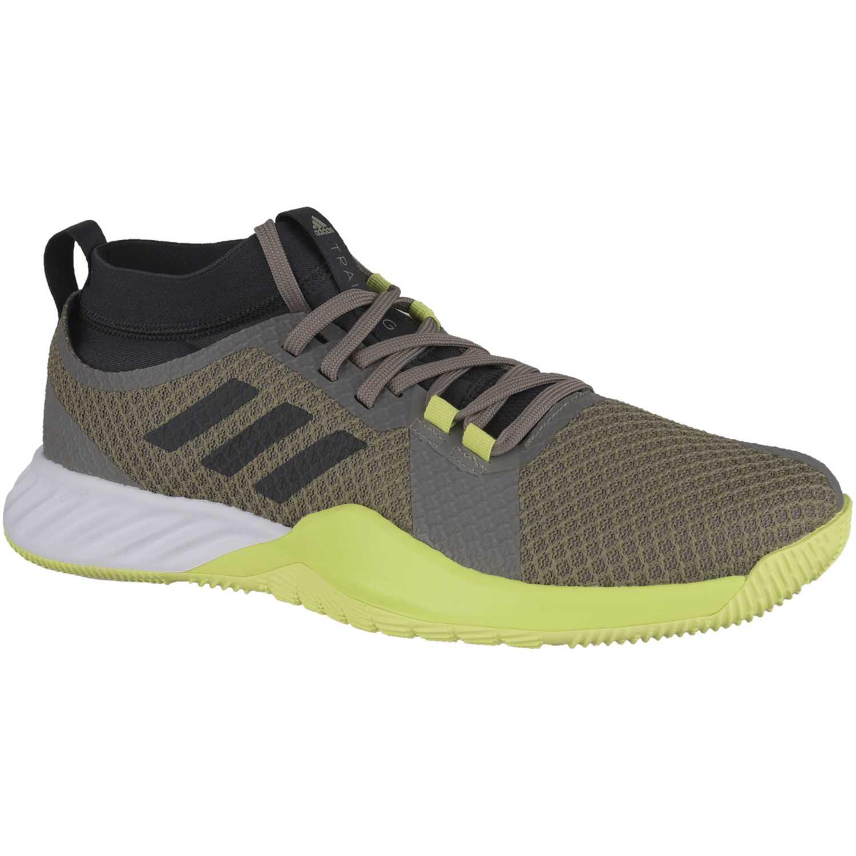 size 40 460f5 33bbf Zapatilla de Hombre Adidas Gris   amarillo crazytrain pro 3.0 m