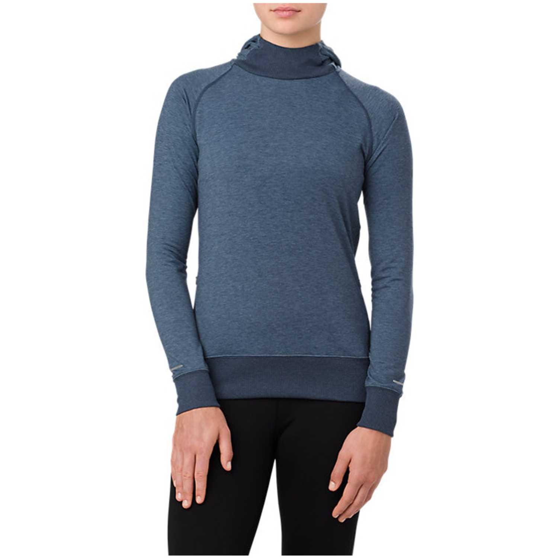 Polera de Mujer Asics Acero hoodie  dark blue heather