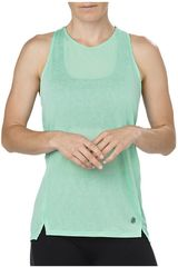 Asics Verde de Mujer modelo COOL TANK OPAL GREEN Deportivo Bividis