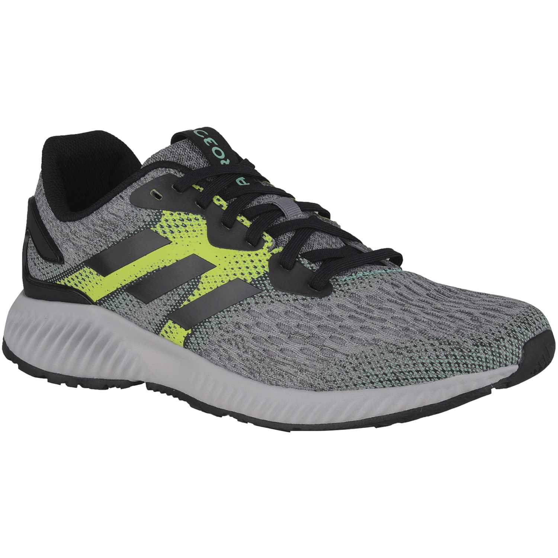 sports shoes 83c92 85b8f Zapatilla de Hombre Adidas Negro  verde aerobounce m