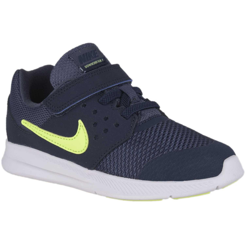 c818f7d114c Zapatilla de Niño Nike Azul   Amarillo downshifter 7 btv ...