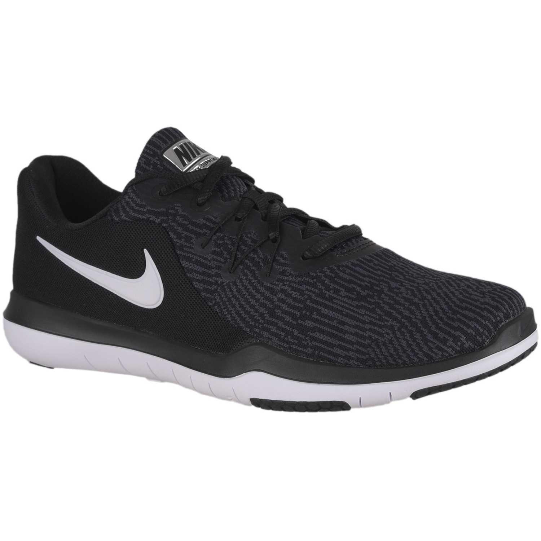 f3cba001a0aa2 Zapatilla de Mujer Nike Negro   blanco w nike flex supreme tr 6 ...