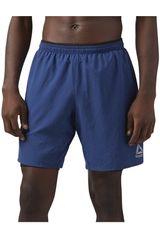 Reebok Acero de Hombre modelo RE 2-1 SHORT Shorts Deportivo