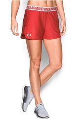 Under Armour Rojo de Mujer modelo SHT UND 1292231-693 PLAY UP SHORT XS Deportivo Shorts