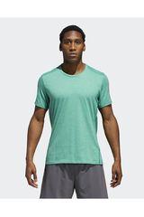 adidas Verde de Hombre modelo RS SOFT TEE M Deportivo Polos