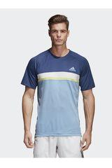 adidas TQ/AZ de Hombre modelo CLUB C/B TEE Deportivo Polos