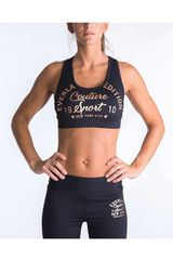 Everlast Negro / Rosado de Mujer modelo PETO BASIC Tops Deportivo