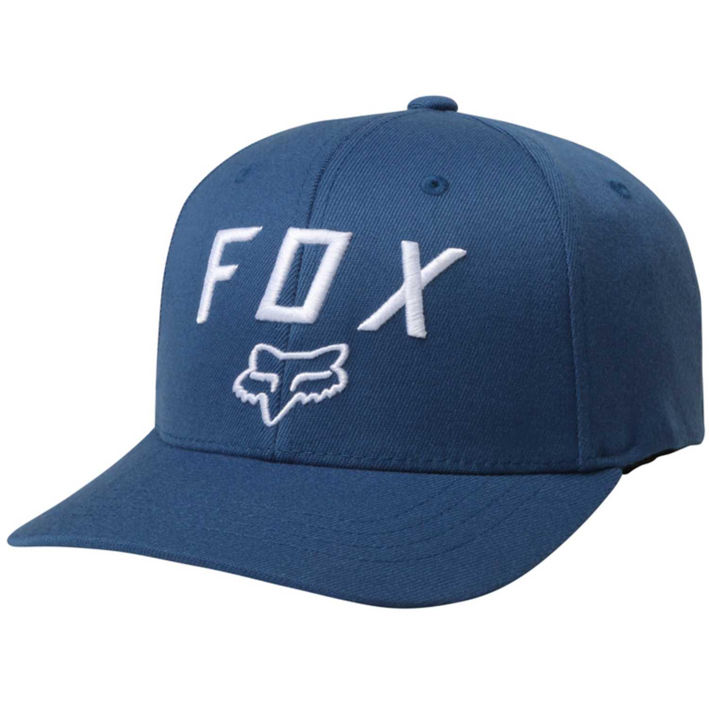 Gorro de Hombre Fox Azul / blanco legacy moth 110 snapback