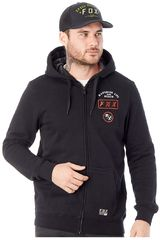 Fox NEG de Hombre modelo DISTRICT 4 ZIP FLEECE Casacas Deportivo